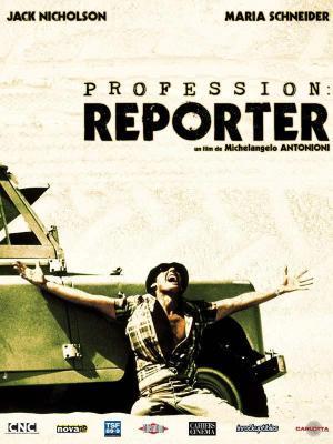 Affiche Profession : reporter