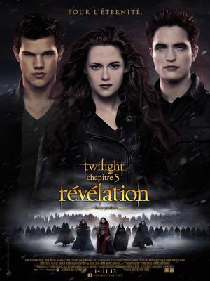 Affiche Twilight, chapitre 5 : Révélation, 2ème partie