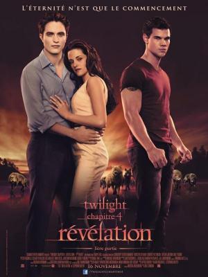 affiche Twilight, chapitre 4 : Révélation, 1ère partie