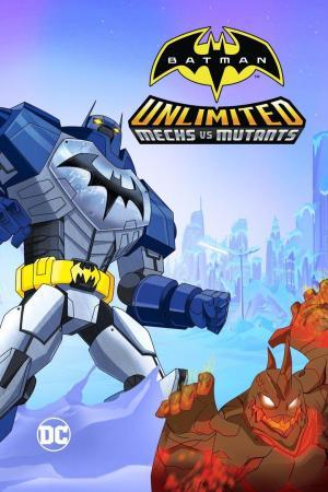 Affiche Batman Unlimited: Mech vs. Mutants