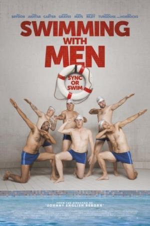 affiche Regarde les hommes nager