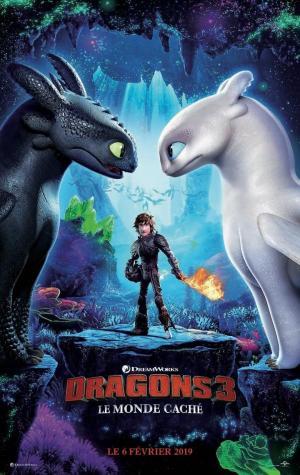 Affiche Dragons 3 : Le Monde caché
