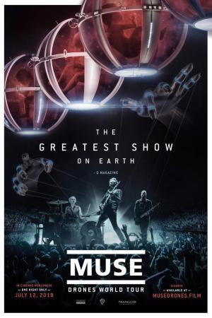 Affiche Muse: Drones World Tour