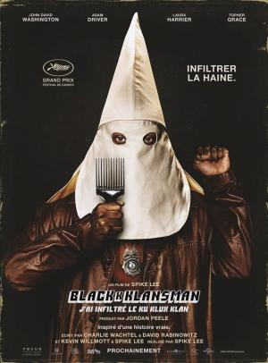 Affiche BlacKkKlansman