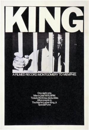 affiche King : De Montgomery à Memphis