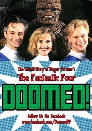 "Affiche Doomed: The Untold Story of Roger Corman's ""The Fantastic Four"""