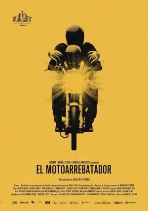 Affiche L'Homme à la moto