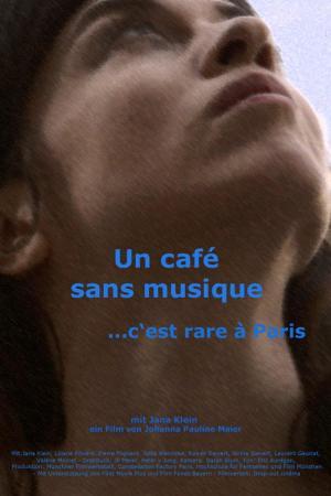 Affiche Un café sans musique c'est rare à Paris