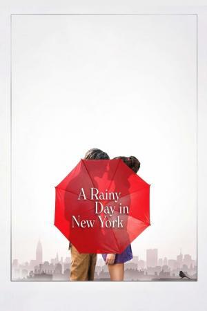Affiche Un jour de pluie à New York