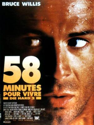 Affiche Die Hard 2 : 58 minutes pour vivre