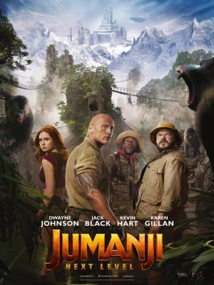 affiche Jumanji : next level