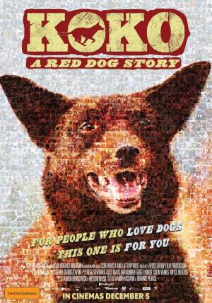 affiche Koko: A Red Dog Story