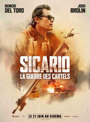 Affiche Sicario : La Guerre des Cartels