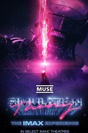 Affiche Muse : Simulation Theory