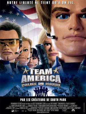 Affiche Team America police du monde