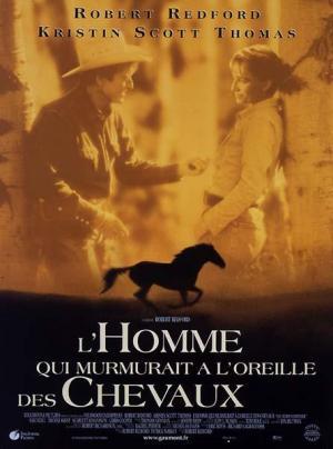 Affiche L'Homme qui murmurait a l'oreille des chevaux