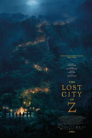 Affiche Lost City of Z - La Cité Perdue de Z