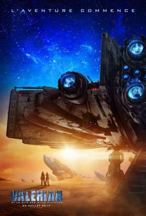 Affiche Valerian et la Cité des mille planètes