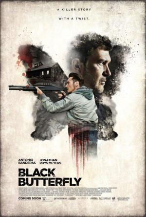 Affiche Black Butterfly