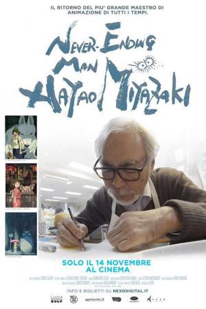 Affiche Never-Ending Man: Hayao Miyazaki