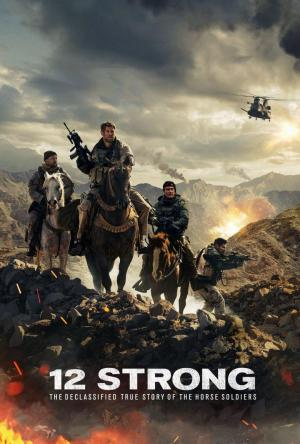Affiche 12 Strong: The Declassified True Story of the Horse Soldiers