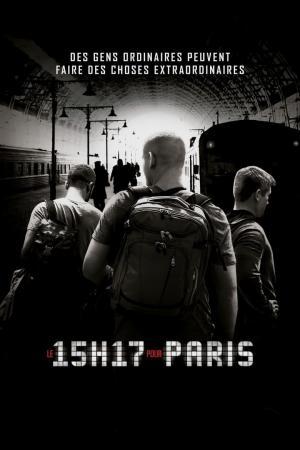 Affiche Le 15:17 pour Paris