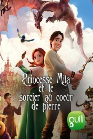 Affiche Princesse Mila et le sorcier au coeur de pierre