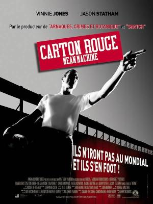 Affiche Carton rouge - Mean Machine
