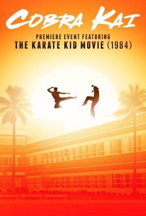 Affiche Cobra Kai Premiere feat. Karate Kid