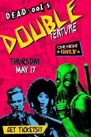 Affiche Deadpool's Double Feature