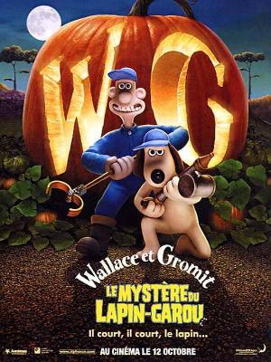 Affiche Wallace et Gromit : le Mystère du lapin-garou