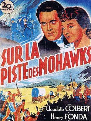 Affiche Sur la piste des Mohawks