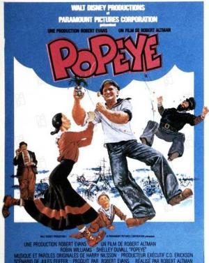affiche Popeye