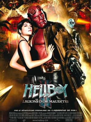 Affiche Hellboy II les légions d'or maudites