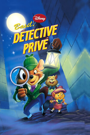 Affiche Basil, détective privé