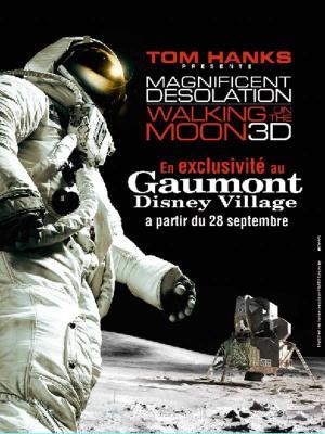 Affiche Magnifique désolation : marchons sur la lune