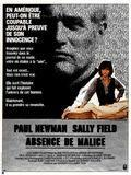 Affiche Absence of Malice