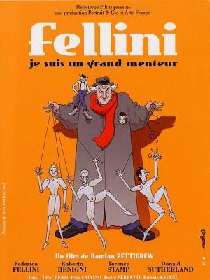 Affiche Fellini - je suis un grand menteur