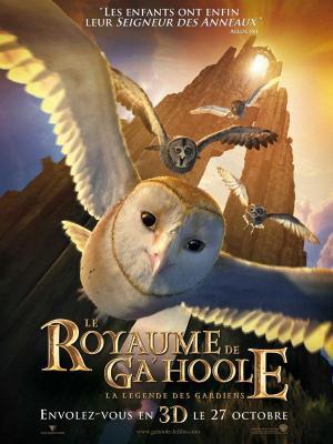 Affiche Le Royaume de Ga'Hoole - la légende des gardiens