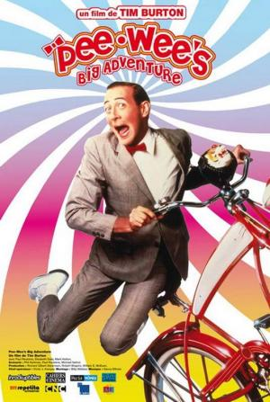 Affiche Pee Wee Big Adventure