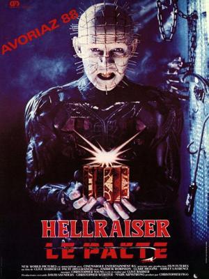 Affiche Hellraiser le pacte