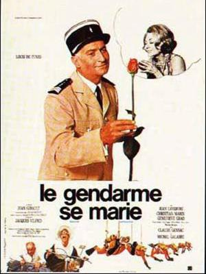 Affiche Le Gendarme se marie
