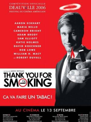 Affiche Thank You for Smoking
