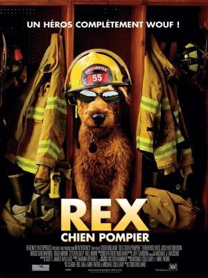 Affiche Rex, chien pompier