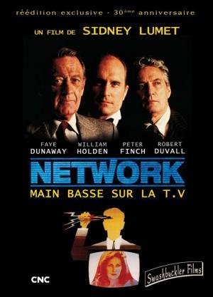 affiche Network, main basse sur la télévision