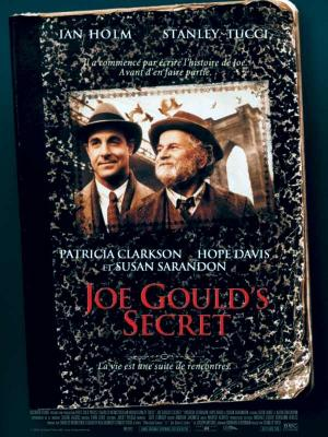 Affiche Joe Gould's Secret
