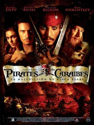 Affiche Pirates des Caraïbes : la Malédiction du Black Pearl
