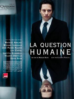 Affiche La question humaine