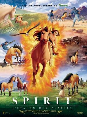 affiche Spirit, l'étalon des plaines