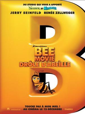 affiche Bee movie - drôle d'abeille
